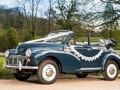 Danewest Motors | Morris Minor Convertible Hire