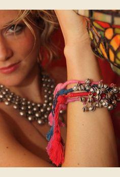 gypsy bells bracelet or anklet