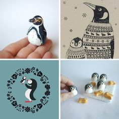 Perfect Penguins! Chosen by Sasha Garrett.