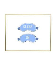 Sleep in print $19.50