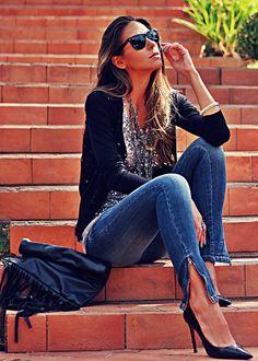 Mac'Stile Super Skinny Jeans by Decor e Salto Alto