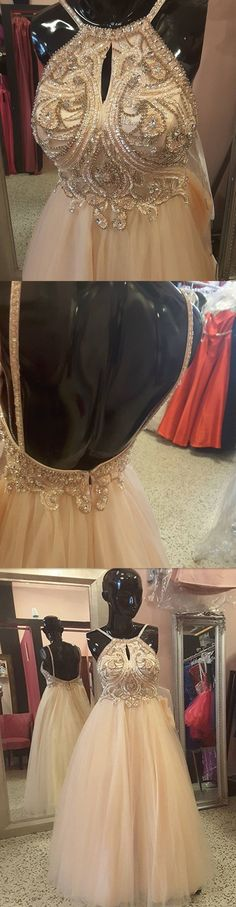 SEQUINS APPLIQUES SPARKLY BEADING SPAGHETTI STRAP PROM GOWN DRESSES. DB1032