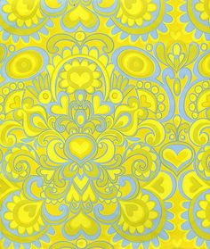 Yellow and Blue wrapping paper