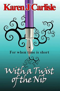A collection of ten speculative fiction short stories. Dwarves, vampires, time travel, detectives, steampunk adventures or supernatural events - take your pick. With a Twist of the Nib is full of quick-read shorts - perfect for commuting, waiting in line or when time is short. Available Smashwords and Amazon. https://www.smashwords.com/profile/view/kjcarl https://www.amazon.com/author/karenjcarlisle