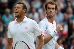 It's Jo-Wilfred Tsonga v Andy Murray for the Wimbledon 2nd Semi-Final ^_^