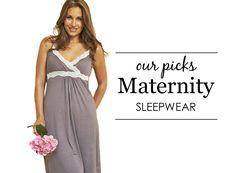 Project Nursery's Top Picks for Maternity Sleepwear - #maternity #style