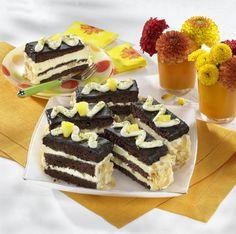 Unser beliebtes Rezept für Schokoladen-Ananas-Schnitten und mehr als 55.000…