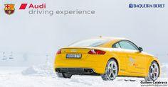 El 11 de marzo estuve en la estación de esquí de Baqueira-Beret para cubrir la Audi Winter Driving Experience organizada por Audi y el FC Barcelona