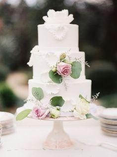 Featured Photographer: Erich McVey Photography; Wedding cake idea.