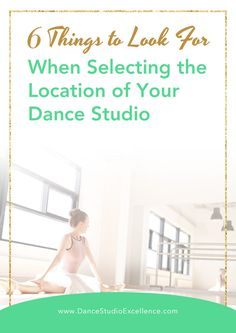 Selecting the location of your dance studio can be an emotional process! The butterflies in your stomach every time you step into a potential premise. How To Use Facebook, New Students, Pinterest For Business, Dance Studio, Business Advice, Dance Moms, Social Media Tips, The Selection