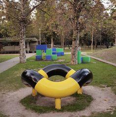 #isamunoguchi play sculpture and cubes #twosday