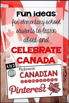 Fun Canadian elementary school ideas students learn about celebrate Canada Day Primary Teaching, Primary Education, Teaching Activities, Classroom Activities, Teaching Tools, Student Learning, Teaching Resources, Teaching Ideas, Language Activities