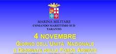 News Taranto. Celebrazioni per il 4 Novembre, festa delle forze armate