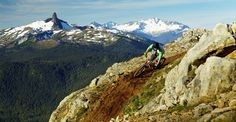 Learn how to downhill mountain bike in Whistler, BC Mountain Biking, Mtb Trails, Bike Parking, Whistler, Top Of The World, Mount Everest, North America, Places To Go, Mountains