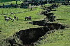 """Greece is in a sort of """"box"""" of earth quake fault lines. This changed the ancient Greeks because earthquakes that demolished city's helped to end the Mycenaean civilization. Natural Phenomena, Natural Disasters, Mother Earth, Mother Nature, Tornados, Fantasy Landscape, Landscape Photos, Gaia, Travel Design"""
