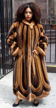 Whiskey Mink and Mahogany mink coat www.kaufmanfurs.com | Yelp