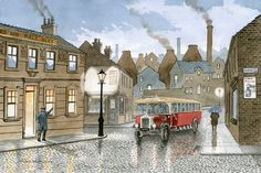 At Theartbay Gallery & Fine Art Publishing we have a wide varierty of The Complete Catalogue and much more. Nostalgic Art, Bus House, Stoke City, Stoke On Trent, Pottery Painting, East London, Local Artists, Back In The Day, Taj Mahal