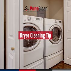 It's important to stay on top of checking for lint, debris, or even birds' nests that have built up in the dryer exhaust tube or vent. When not using your dryer, always close the exterior vent door tightly. House Cleaning Tips, Cleaning Hacks, Clean House, Dryer, Washing Machine, Home Appliances, Nests, Tube, Birds