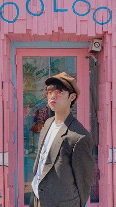 kim sunwoo / the boyz / lockscreen / wallpaper - ChefKoch Boys Wallpaper, Iphone Wallpaper, It Icons, Eunwoo Astro, Kpop Posters, Eric Nam, How To Pose, Kim Sun, Racoon