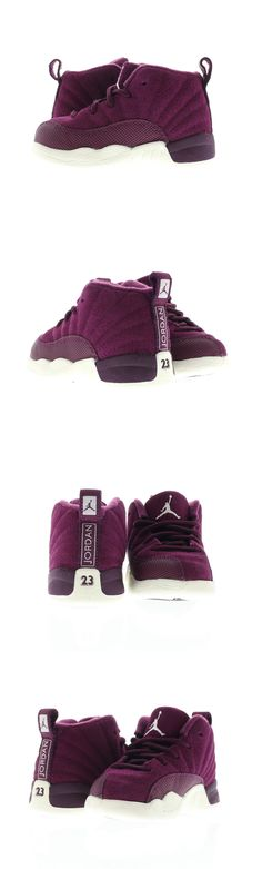 bf07257fa2ef97 Baby Shoes 147285  Infant (Td) Air Jordan 12 Retro Bordeaux Sail-Metallic  Silver 850000-617 -  BUY IT NOW ONLY   55 on eBay!