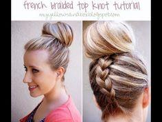Dutch Braided Top Knot - Twist Me PrettyTwist Me Pretty