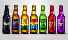 As cervejas dos Super-Heróis