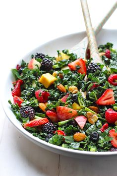The Best Summer Kale Salad | The Balanced Berry