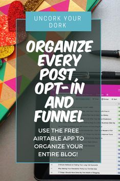 HOW TO ORGANIZE YOUR ENTIRE BLOG WITH AIRTABLE// In this FREE video training, I'll walk you through how you can organize your blog posts, opt-ins & funnels! Click the link to get access to the free 30-minute video training + access to the actual Airtable spreadsheet! Airtable is a FREE platform for any industry, so why not get a head start?? **This is a free training + spreadsheet you'll recieve in exchange for your contact info. We do NOT spam.**