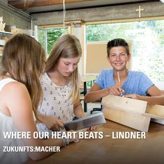 "Have you heard about the ""Zukunfts:MACHER""? The project of the Hans Lindner Foundation supports middle schools in linking theory and practice: Students learn more about market-oriented thinking and acquire craft skills by developing a real prototype from their idea with the help of a professional business plan! Sounds interesting? Student Learning, Business Planning, In A Heartbeat, Middle School, Schools, Theory, Foundation, Students, Marketing"