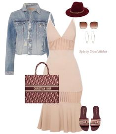 Give me a cute pair of flats, a big tote, and a fedora to match and I'm happy! Favorite way to dress in spring! Cute Edgy Outfits, Chic Outfits, Fashion Outfits, Girl Outfits, Black Girl Fashion, Love Fashion, Womens Fashion, Style Casual, My Style
