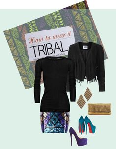 """""""Tribal/Ethnic"""" by thelizzyk on Polyvore"""