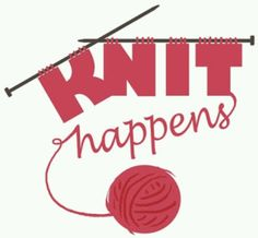 This is the new logo for our Thursday night knitting group. We plan to order nyl. This is the new logo for our Thursday night knitting group. We plan to order nyl. Knitting , lace processing is one of. Crochet Quotes, Knitting Quotes, Knitting Humor, Crochet Humor, Knitting Blogs, Knitting For Beginners, Knitting Patterns Free, Knitting Yarn, Knitting Projects
