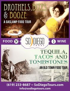 Our San Diego Food Tours are both fun and delicious. So Diego's Food Tours in San Diego offers you a chance to taste the best foods of San Diego. Visit us today for more information.
