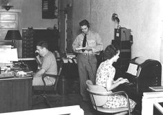 Throwback Thursday: DPS Public Safety Communications (FKA Bureau of Communications) office in the late 1930's  #throwbackthursday #tbt