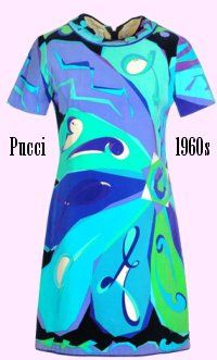 Designer Emilio Pucci Pucci (November 1914 – 29 November was a Florentine Italian fashion designer and politician. He and his eponymous company are synonymous with geometric prints in a kaleidoscope of colors. Sixties Fashion, Mod Fashion, Vintage Fashion, Emilio Pucci, Vintage Mode, Vintage Style, 1960s Outfits, Retro Housewife, Italian Fashion Designers