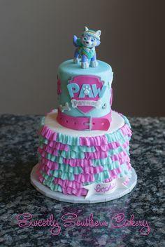 Pastel de Paw Patrol. Ideal para una fiesta temática.#Pawpatrol #pastel