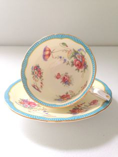 Vintage English Aynsley Fine Bone China Tea Cup by MariasFarmhouse