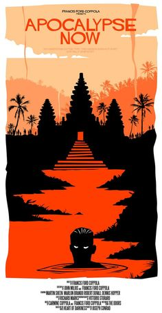 Apocalypse Now. Alternative movie poster.