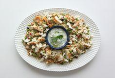 Jamie Oliver - Cous-Cous con pollo griego y Tzatziki (salsa griega de yogur y pepino)