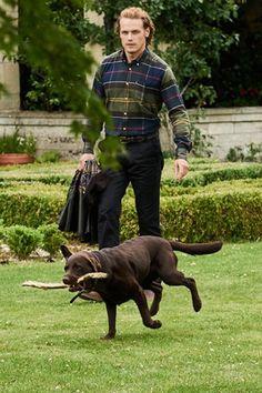 Sam Heughan Barbour best ambassador ever!!#outlander #samheughan#barbour