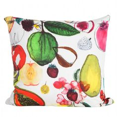 French Fruit Pillow