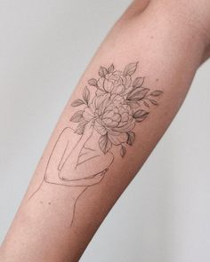 Badass Tattoos, Cool Tattoos, Time Tattoos, Tatoos, Makeup Themes, Lavender Tattoo, Subtle Tattoos, Tattoo Designs, Tattoo Ideas