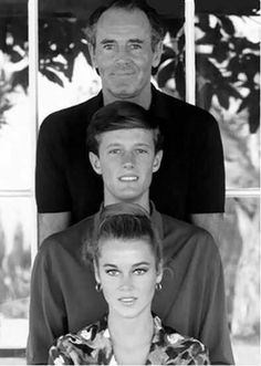 Fonda's.  Born Henry Jaynes Fonda 16 May 1905, Grand Island, Nebraska. Died 12 August 1982, Los Angeles, California. Born Peter Henry Fonda, 23 February 1940, New York. Born Lady Jayne Seymour Fonda, 21 December 1937  New York