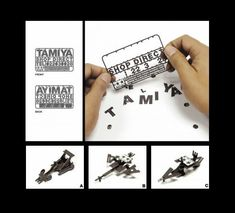build different things with pop out letters!