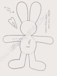 ***Juguetes de Trapo***: Conejos III + ideas y patrones gratis .