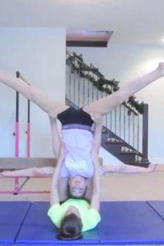 best 3 person 2 person stunts acro tricks tutorial