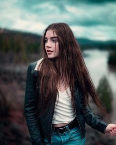 Beautiful Portrait Photography by Abel Lares #inspiration #photography