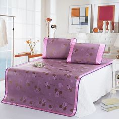 Mickey And Minnie Pink Disney Summer Sleeping Mat Set Disney Bedding, Bedding Sets, Sleep, Summer, Pink, Furniture, Home Decor, Summer Time, Decoration Home