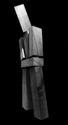 """""""So, after months of making drawings of the metaphorical obliteration of the mind/body dichotomy, I asked myself, who would take their place? What would a human model, a sculpture of embodiment, look like? All parts would have to be equal and human,"""" - Hirsch Perlman"""