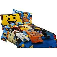 BESTSELLER! Lego the Movie Full Size Sheet Set $47.93. I would seriously do our room in Lego movie stuff!!!